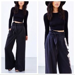 Black Silence + Noise Wide-Leg Pant